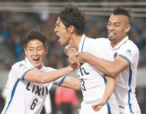 J1鹿島 堅守、1点で突破 浦和とのCS決勝へ