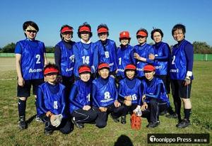 スローピッチソフトボール 青森県女子、全国準優勝