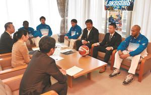 バスケBリーグ 滋賀、大津をホームタウンに 市長に打診