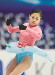 フィギュアスケート NHK杯 宮原、ファイナルへ正念場