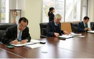 フットサルで地域活性化 由利本荘市、日本連盟などと協定