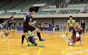 浜松、湘南に0―4 フットサルFリーグ第22節
