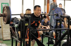 国体愛媛県予選 パワーリフティング、7階級挑戦