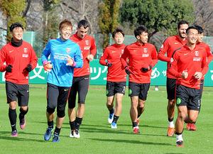 J1浦和 11対11の試合形式で最終調整 29日CS決勝