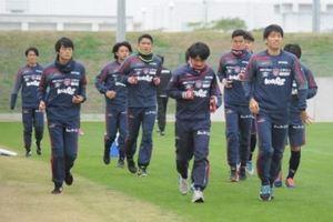 J2岡山 ホームに戻り練習再開 昇格PO決勝へ気合十分