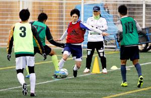 入団テスト FC今治(愛媛)の即戦力に、28人実力アピール
