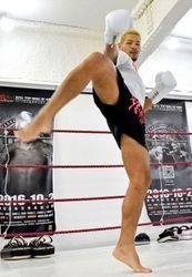 キックボクシング 石垣市出身の廣虎、世界ライトミドル級王座奪取