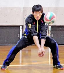 バレー福沢「海外の成果見せる」 3日から京都で凱旋試合