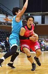 秋田、京都下し3連勝 東地区4位浮上、バスケBリーグ