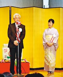 殿堂入り山中さん祝う 富山県内外の野球関係者1000人