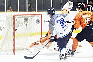フリーブレイズ、連勝止まる アイスホッケー・アジアリーグ