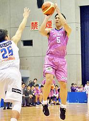 バスケB2福島、連勝5でストップ 茨城に敗れる