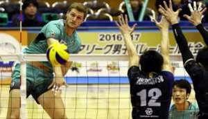 JT連敗止める、豊田合成に雪辱3―0 バレー・プレミアL