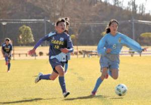 サッカー少女、熱戦 U-15フェスティバル