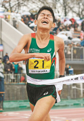 川内、激走3位「世界」前進 福岡国際マラソン