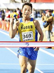 加藤、3年ぶりV 野馬追の里健康マラソン・ハーフ一般男子39歳以下