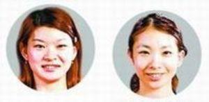 松友組2連覇 全日本総合バドミントン選手権
