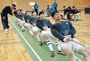 金沢レスキュー3連覇 石川県綱引選手権