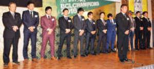 BCリーグ 群馬「日本一」報告会 連覇に向け気合