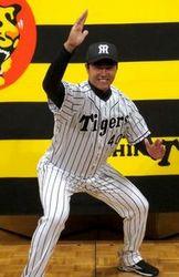 阪神 6位指名の福永、入団発表で約束「お立ち台で阿波踊り」