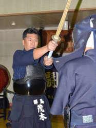 剣道 茂木良文(太田東中教頭)群馬で12年ぶり8段昇格