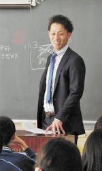 楽天 出会い一番大事 阿部、中川が小学校で授業