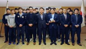 ハンドボールのトヨタ紡織、韓国強豪招き強化合宿