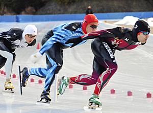 ゼビオ―LINX・古川が男子2冠 福島県総体スケート