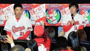 広島・野村、開幕投手狙う 2冠で自信・黒田から刺激