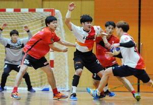 ハンドボール・トヨタ紡織、韓国強豪と親善試合