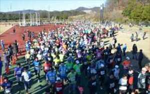 急勾配に負けず、健脚競う 栃木、さのマラソン大会に3500人