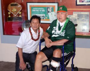 先輩名将の教えに感銘 ハワイ大で栗山監督