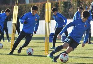 レアル戦へ、J1鹿島一丸 クラブW杯サッカー決勝