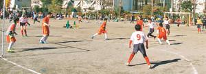 スポーツでいじめ防止訴え 川崎市がフットサル大会