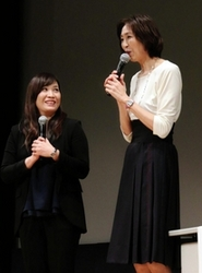 女性指導者役割は バレー竹下監督、大林さん講演