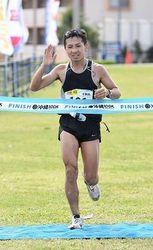 男子1位は野坂伸吾さん(千葉県) 100Kウルトラマラソン