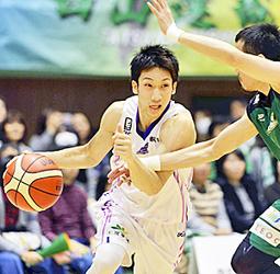 バスケB2福島が5連勝 後半に逆転、東京を下す