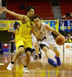 青森連勝ならず、香川に大敗 バスケBリーグ