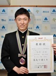 陸上 ジュニア五輪 洲本の土居さん、リレー3位に貢献