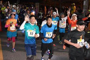 ウルトラマラソン 100キロの南部路334人完走