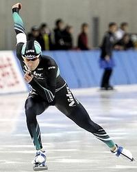 スピードスケート ウィリアムソン師円V3 全日本選手権