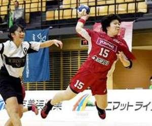 湧永・メイプルそろって8強 ハンドボール日本選手権