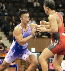 全日本レスリング 男子グレコで塩川が準優勝