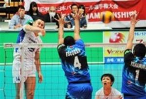 東レ、決勝進出 バレーボール全日本選手権・男子