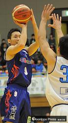 青森終盤息切れ、75-82で東京に敗れる バスケBリーグ