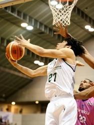 西宮、福島に敗れ8敗目 バスケBリーグ2部