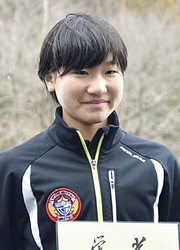 郡山一・清水が優勝、喜久田・安田は2位 東北中学スケート