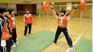 五輪選手から練習の手ほどき 天童でU-15アスリートキャンプ