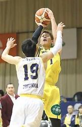 信州劣勢はね返せず、香川に大敗 バスケBリーグ2部