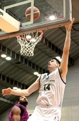 バスケットBリーグ2部 西宮、福島破り18勝目